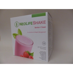 NeoLife Shake, Protein Shake,Berries'n Cream
