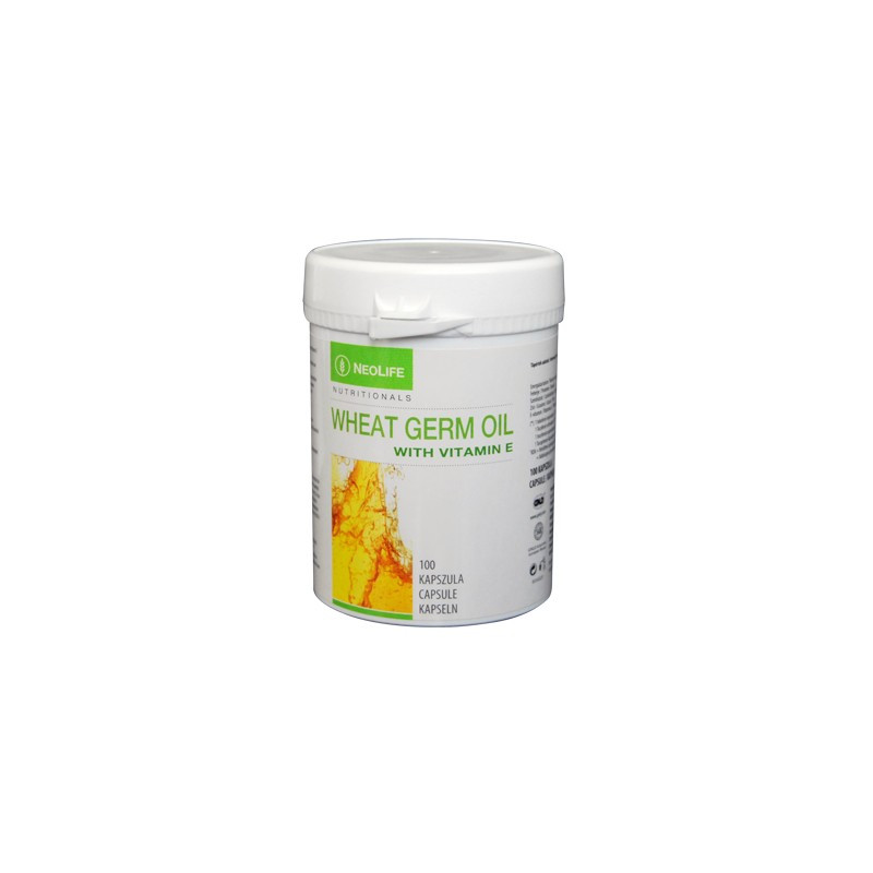 Wheat Germ Oil med vitamin E